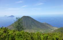 Ile de Salina : Sommet du Monte Fossa Delle Felci